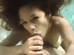 Latin Slut Gives A Blowjob...